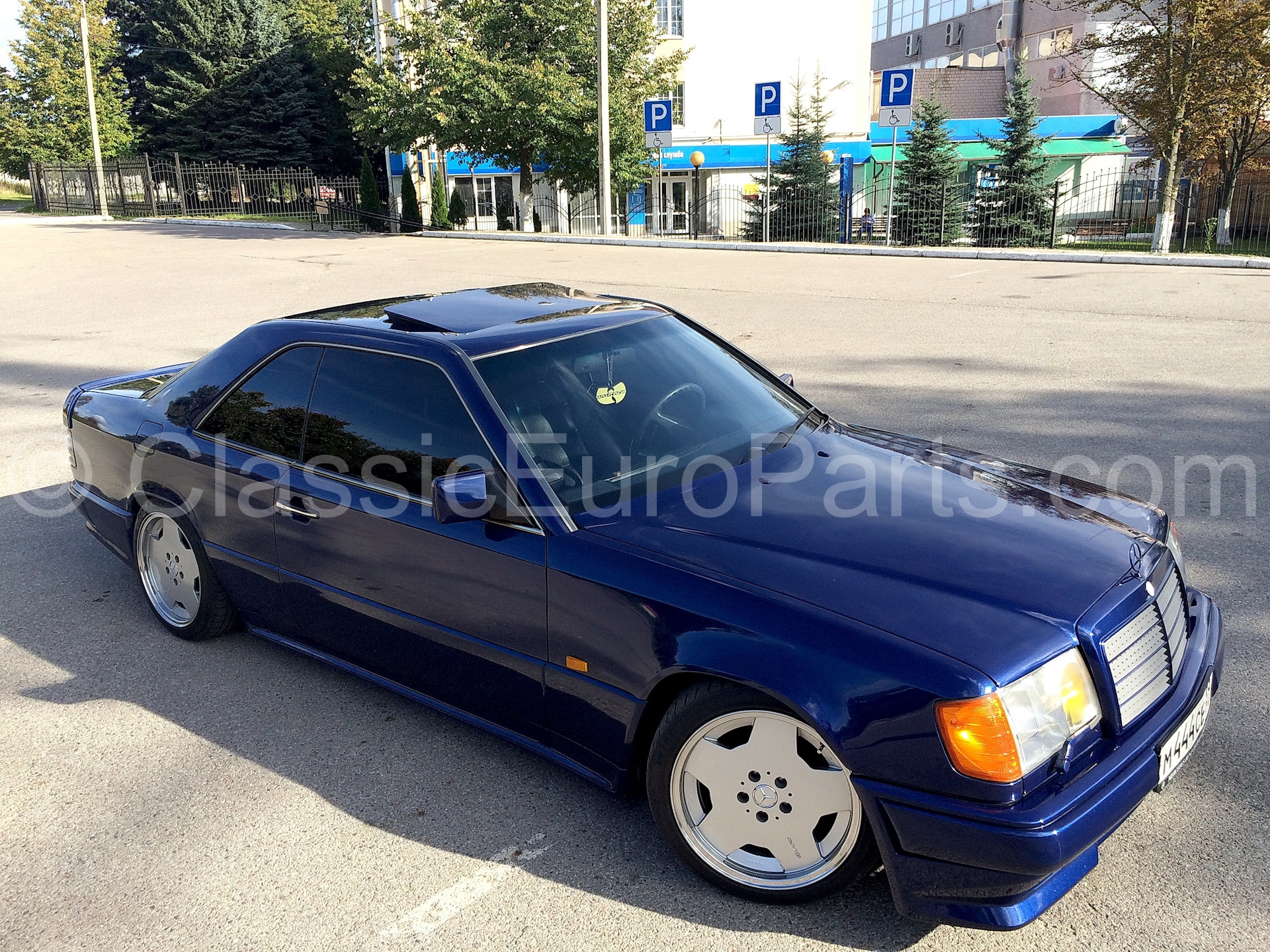 17 8 Et28 Replacement Wheel Set For W124 With Amg Aero Body Kit Classiceuroparts