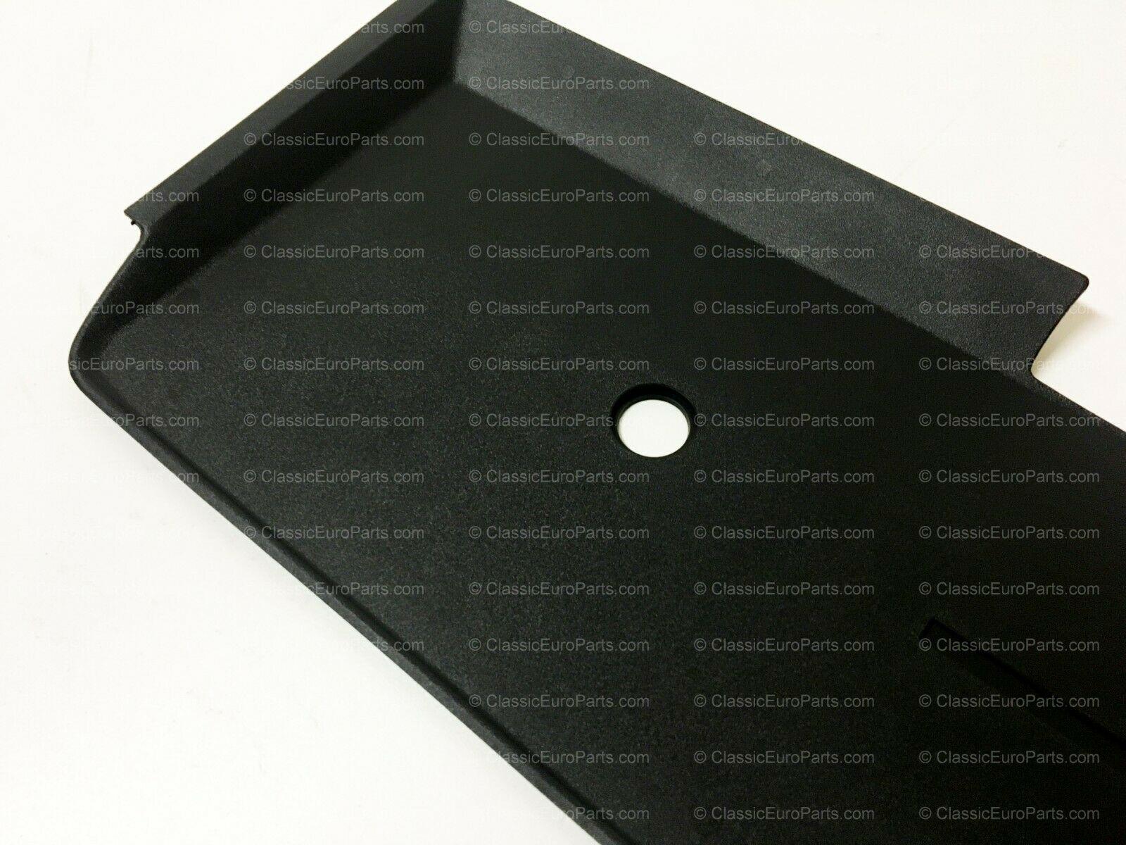 Euro heckblende / plate filler for early model E30 Original