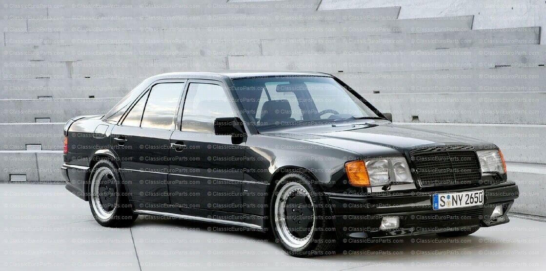 MB Mercedes W124 Sedan Estate AMG Sideskirt skirts kit Lorinser Brabus Euro trim