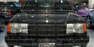 Mercedes W124 Front Bumper AMG GEN1 style SPOILER euro Clear FOG LIGHTS