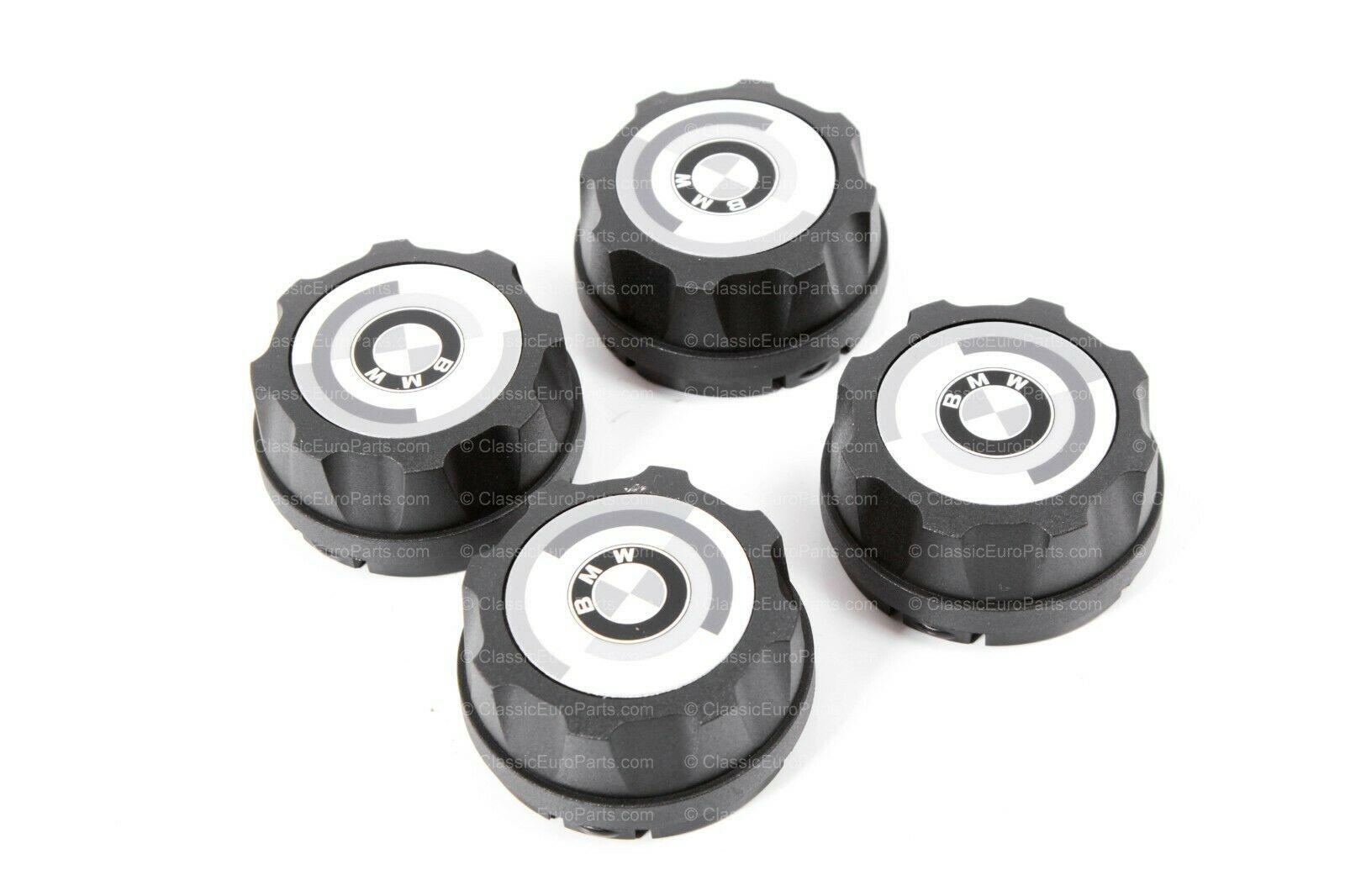 60 Mm Hub Cap Sticker Set For Bbs Mahle Wheels