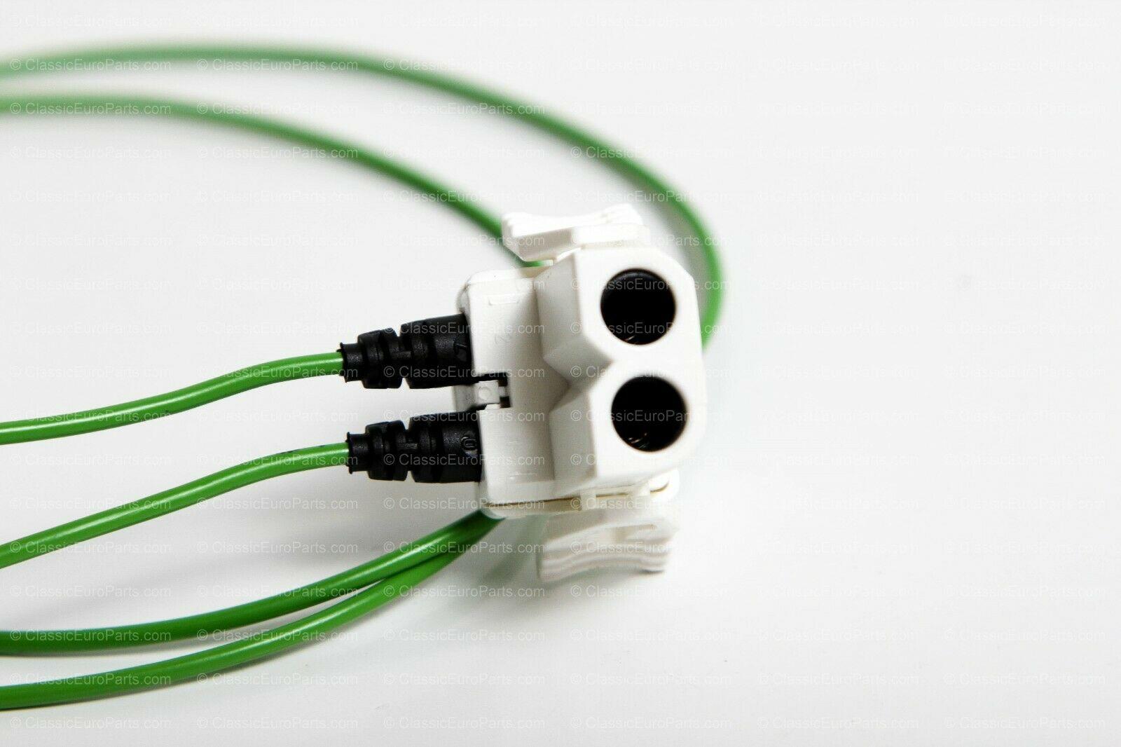euro ellipsoid / smiley headlight connectors for e30 – classiceuroparts  classiceuroparts