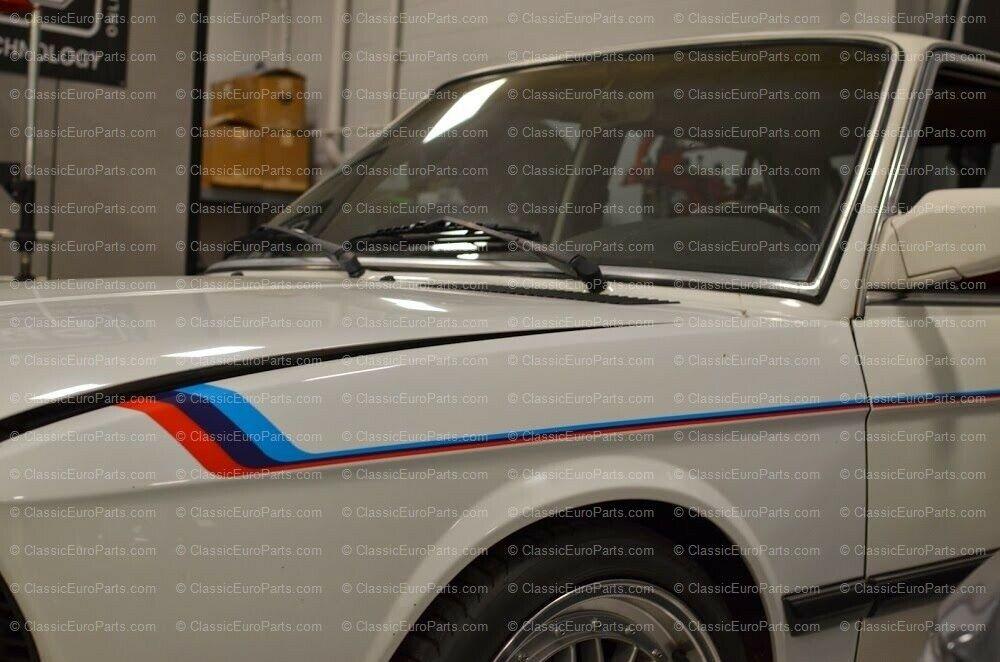 Bmw E28 E12 M Technic Stripe Decal Set Classiceuroparts