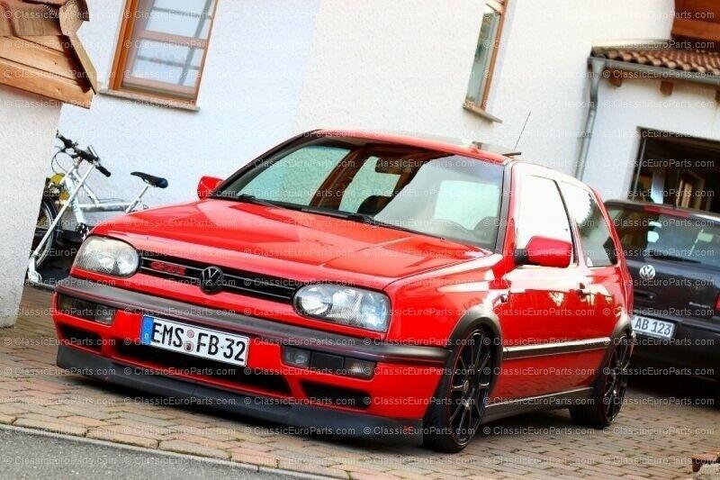 VW-Golf MK3 3 VR6 GTI Euro Front Deep Bumper Chin Lower Spoiler Lip Body Kit III