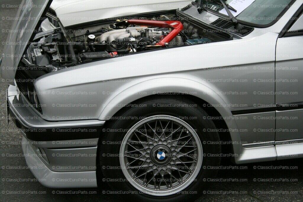 Wheel Cap In Nogaro Silver For 15 16 Bbs Style 5 Wheels For E28 E30 E34