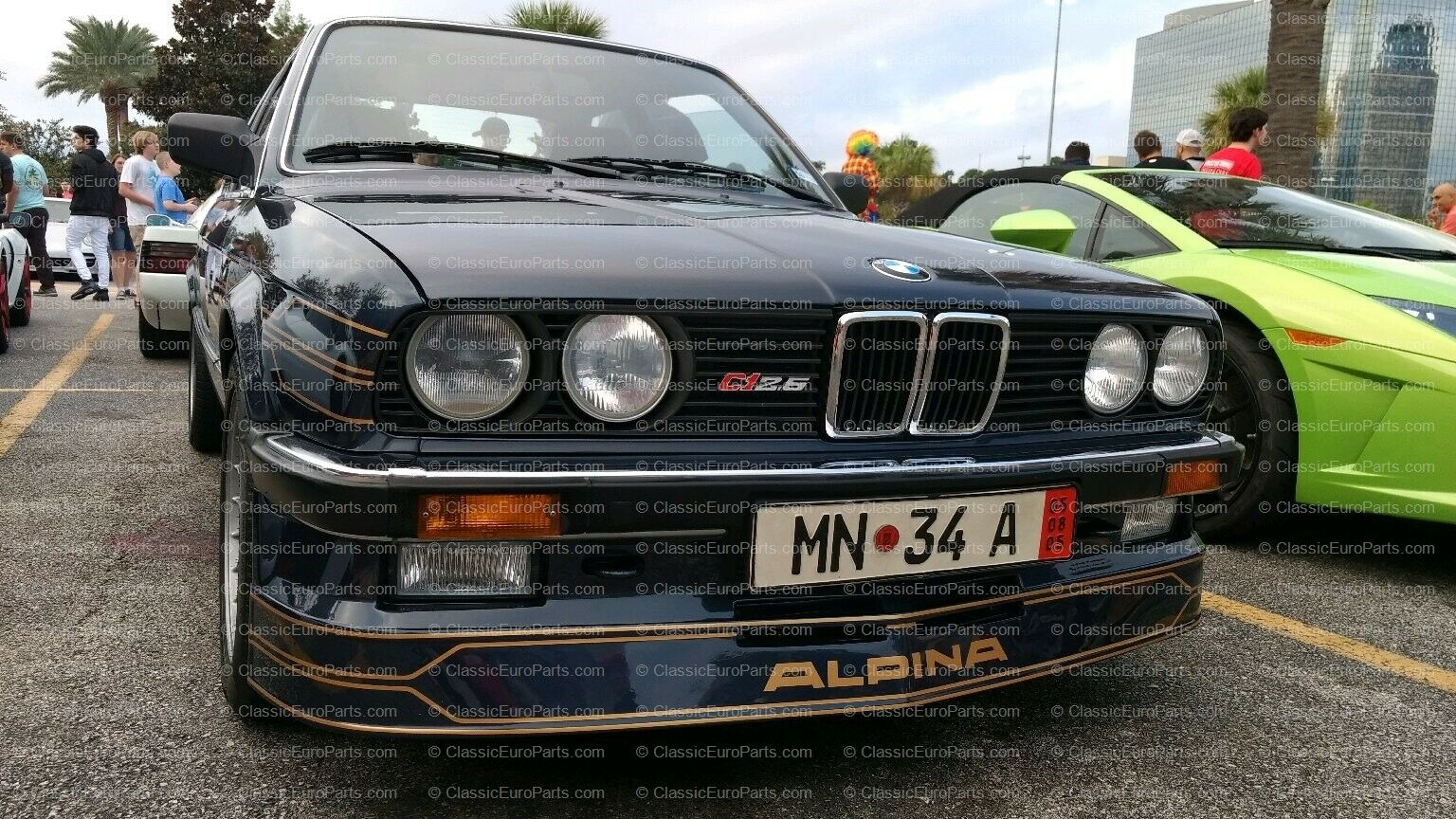 Front Spoiler For E30 Early Model Alpina C1 C2 1985 1987 Original Classiceuroparts