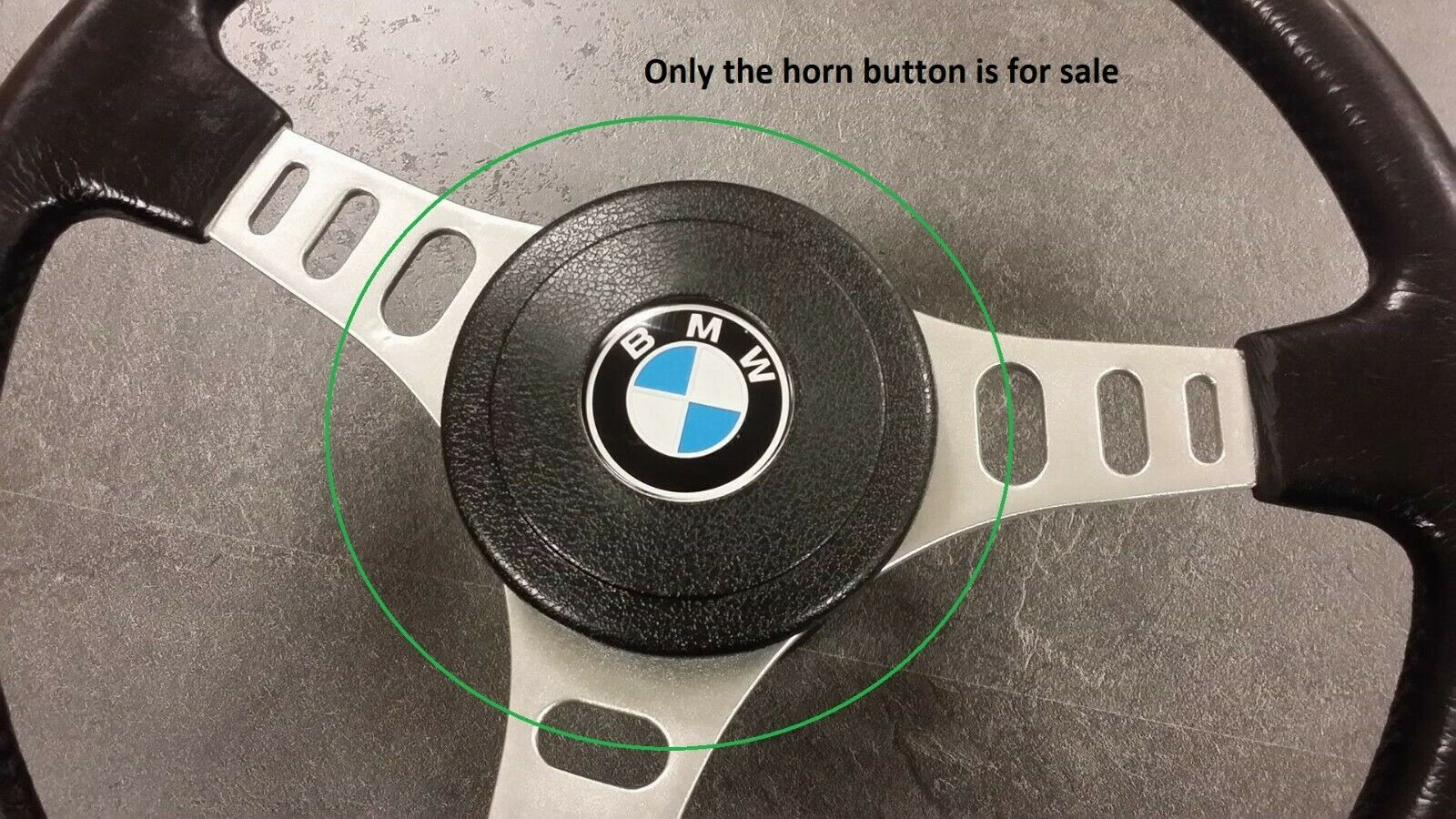 Horn Button For Petri 838 Motorsport 320is Steering Wheel Classiceuroparts