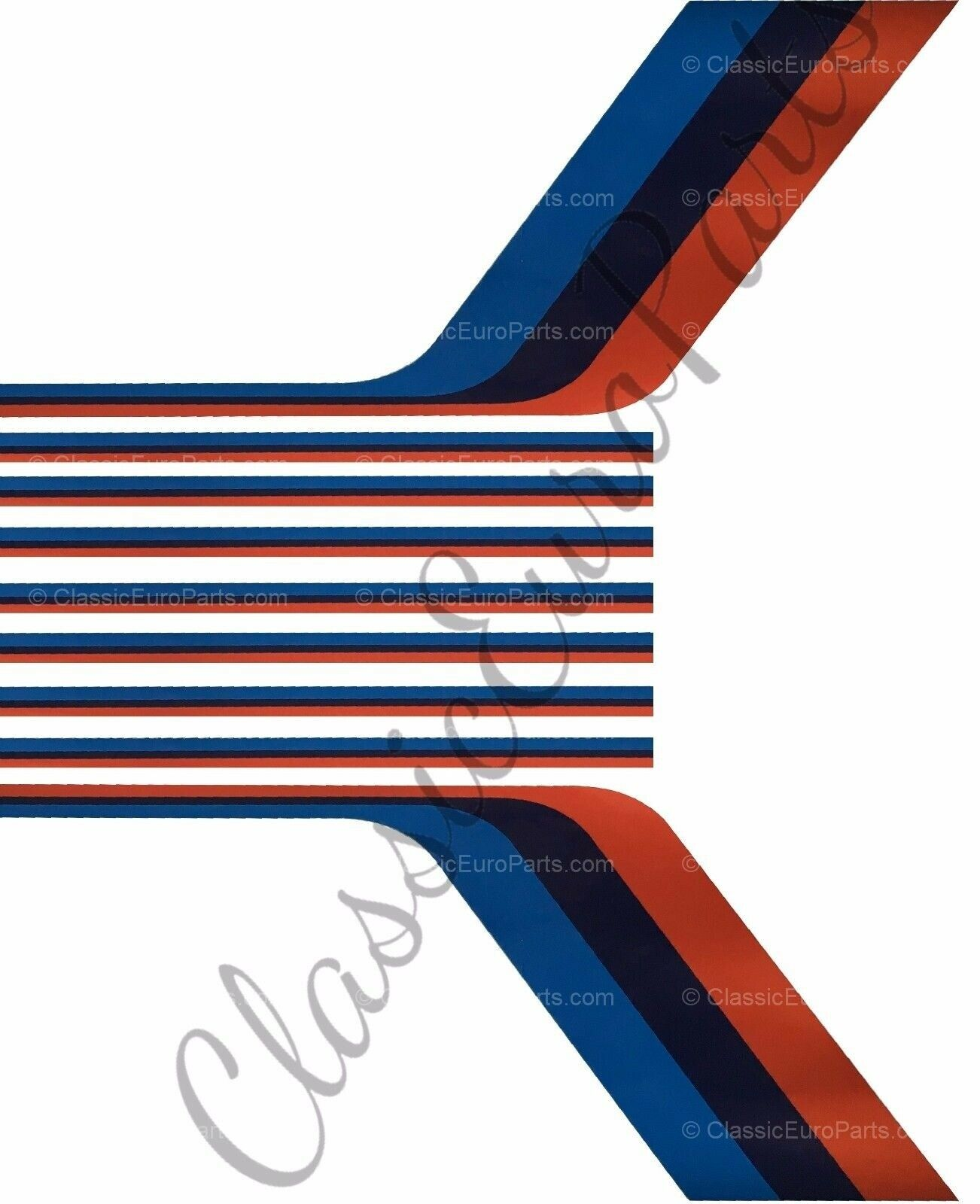 Bmw E30 M Technic Stripe Decal Set