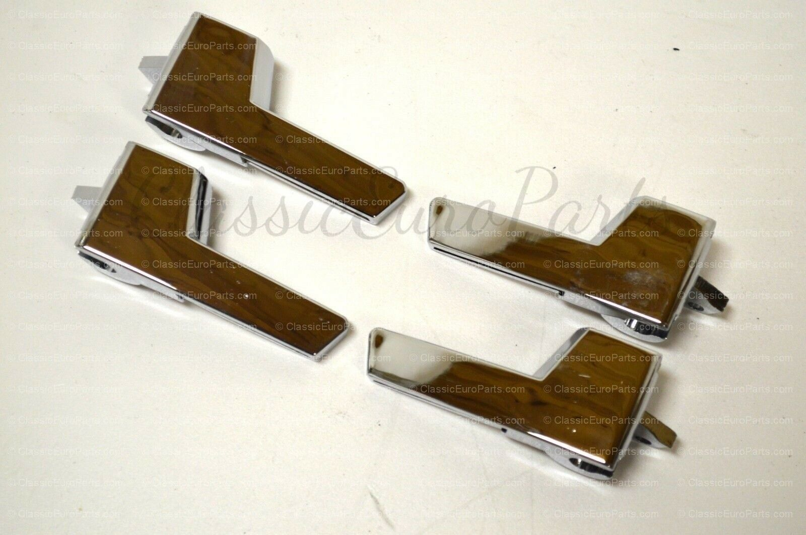 VW Golf / Rabbit / Jetta Mk2 Chrome inner Door handle set ( 4 door ...